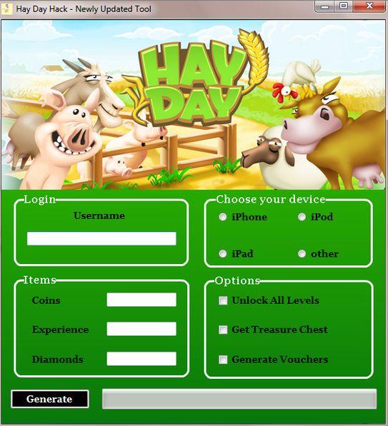 Descargar Hack Hay Day
